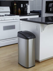 Keep your hands bacteria free with this super clean motion sensor bin