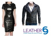 Women's Leather Blezer,  Coats and Jackets at leather69