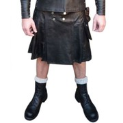 Men's Leather Kilt 24