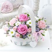 Flowers for Mum: Mother's Day Basket.