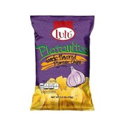 Lulu Garlic Plantain Chips 70g (2.5oz) (Box of 30) | American Snacks