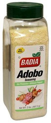 Badia Adobo without Pepper 907.2g (2 Lbs) (Box of 6)