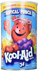 Kool Aid Tropical Punch Tub 2.33kg (34 Quarts) (Box of 6)
