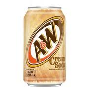 A&W Cream Soda 355ml (12 fl.oz) (Box of 12)