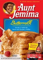 Aunt Jemima Buttermilk Pancake & Waffle Mix 907g (32oz) (Box of 12)